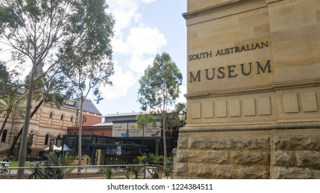 ADELAIDE, SOUTH AUSTRALIA. - On November 07, 2018. – The South Australian Museum is a natural history museum and research institution in Adelaide,