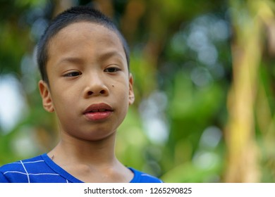 ADHD child be absent-minded with nature background