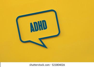 ADHD, Health Concept