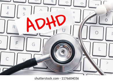 ADHD. Medical Concept: ADHD - Attention Deficit Hyperactivity Disorde.