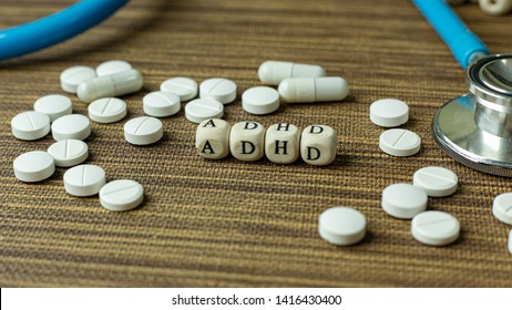 The  ADHD  for Mental Health Awareness concept.