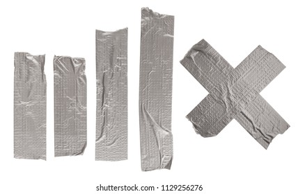 Adhesive tape isolated on white background