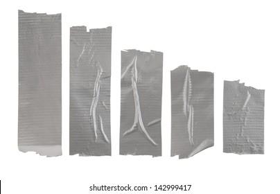 Adhesive tape isolated on white background