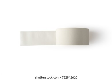 Adhesive tape, isolated on white background