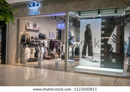 f8f65d3e70c Adidas Shop Mega Bangna Bangkok Thailand Stock Photo (Edit Now ...