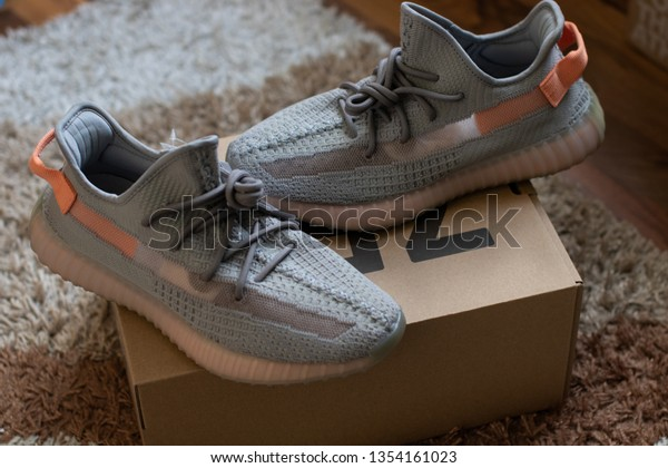 Adidas Yeezy Boost 350 V2 Trfrm | Royalty Free Stock Image