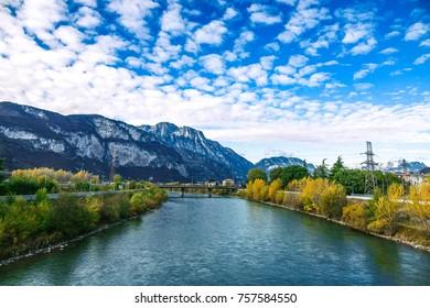 The Adiger river