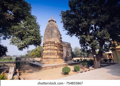 Adinath Jain Temple (late 11th century AD, Chandela dynasty) dedicated to Adinath - 1st of Jain tirthankaras or prophets. Eastern Group of Temples, Khajuraho, Madhya Pradesh, India.