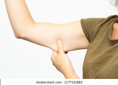 adipose panniculus in the triceps