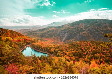 Adirondack Mountains New York in Fall