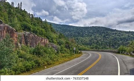 Adirondacks Mountain Road