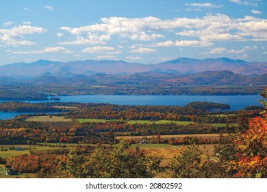 Adirondacks from Vermont Mount Philo