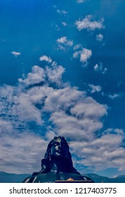 Adiyogi  one of the biggest statue of lord shiva located in Coimbatore