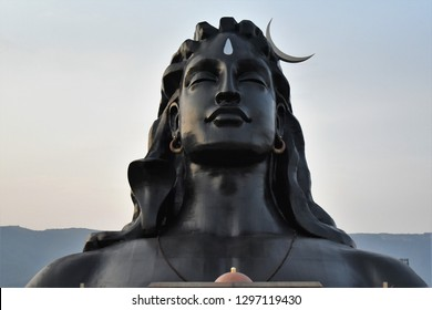 Adiyogi shiva statue, Isha foundation, Coimbatore, Tamil Nadu