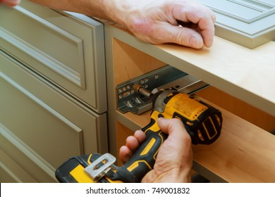 Adjusting fixing cabinet door hinge adjustment on kitchen cabinets