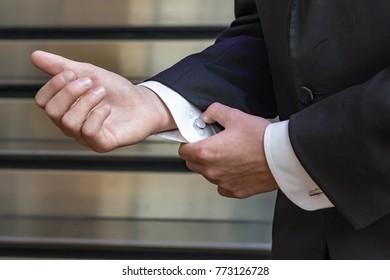 Adjusting Tuxedo Cuffs