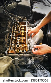 Adjustment of the car's engine