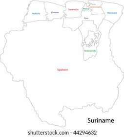 Surinamese Cities Stock Images RoyaltyFree Images Vectors