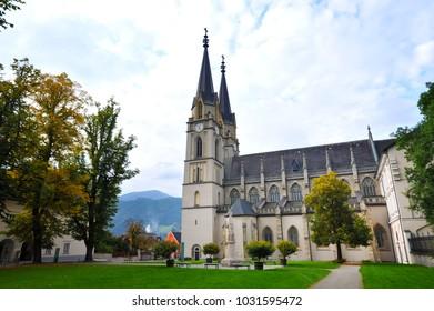 Admont abbey in Styria, Austria