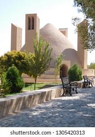 Adobe caravanserai Iran