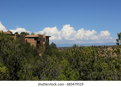 Adobe home with a view