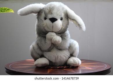 Adorable cute plush Bunny figure
