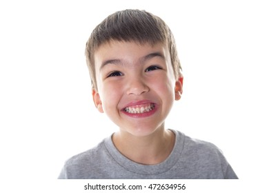 Adorable kid over with background