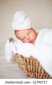 adorable newborn baby