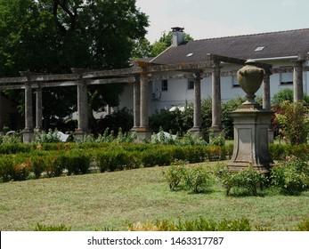 Adria, Italy. Giardino Scarpari, public park. Originally the Scarpari family's garden, they were later purchased by the Municipality.