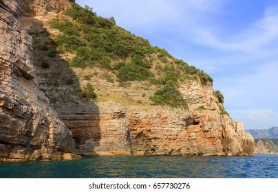 Adriatic coast in Montenegro, Budva, Europe
