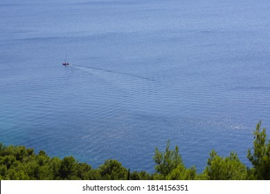 Adriatic Sea in Drage Croatia