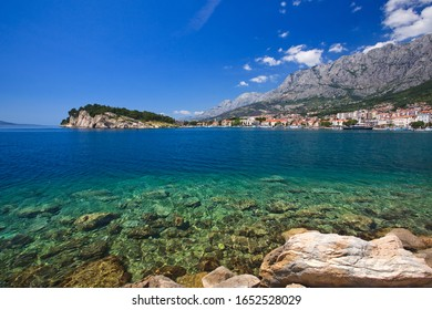 Adriatic Sea, a fantastic seascape in Croatia