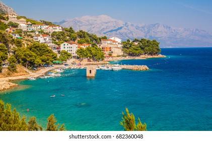Adriatic sea - Makarska Riviera, Dalmatia, Croatia