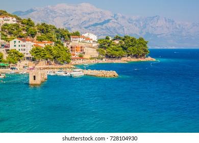 Adriatic sea - Makarska Riviera (nearby Makarska), Dalmatia, Croatia