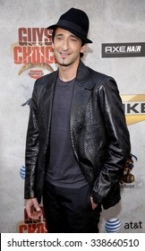 Adrien Brody at the 2010 Guys Choice Awards held at the Sony Pictures Studios in Culver City, California, United States on June 5, 2010.