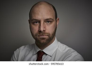 Adult businessman portrait