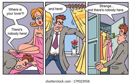 Adult comics strip 1