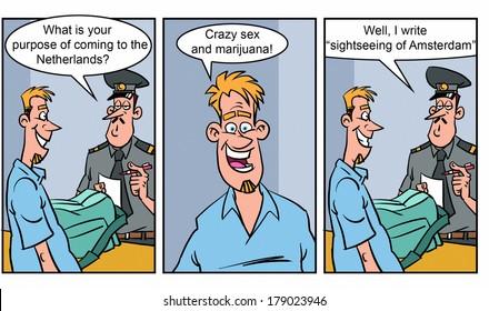 Adult comics strip 2