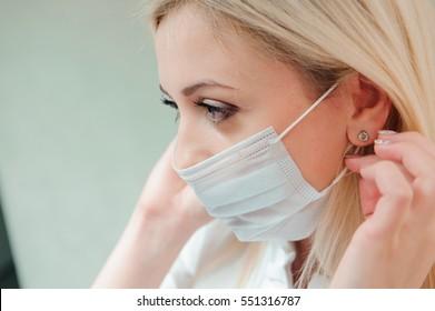 maschera sulla bocca