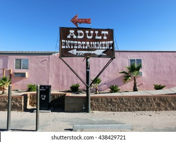 Adult entertainment brothel