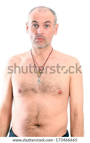 hairy man Adult