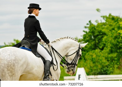 Advanced Dressage test