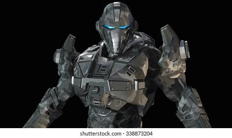 Advanced future soldier