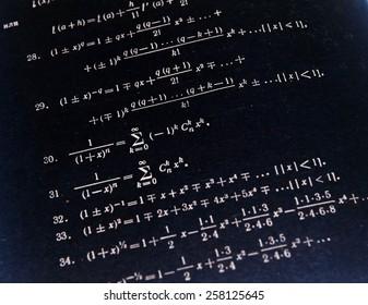 Advanced mathematics (maths)