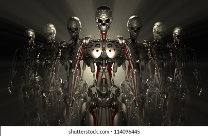 advanced robot soldiers