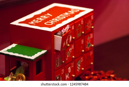 Advent calendar with candy