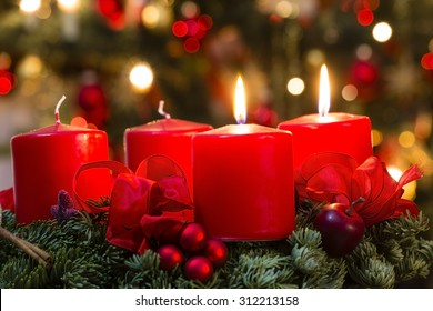 advent wreath for 2. advent