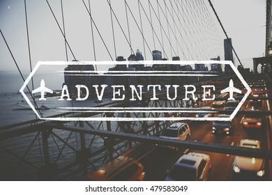 Adventure Break Holiday Trip Concept