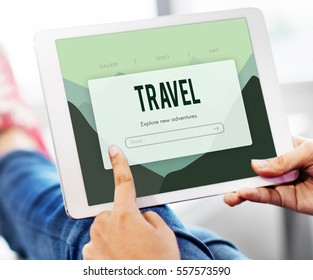 Adventure Holiday Journey Trip Concept