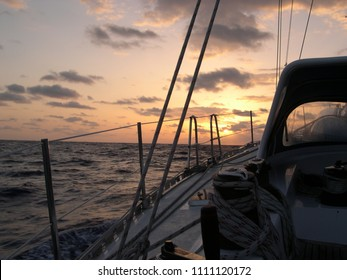 Adventure on a sailing boat